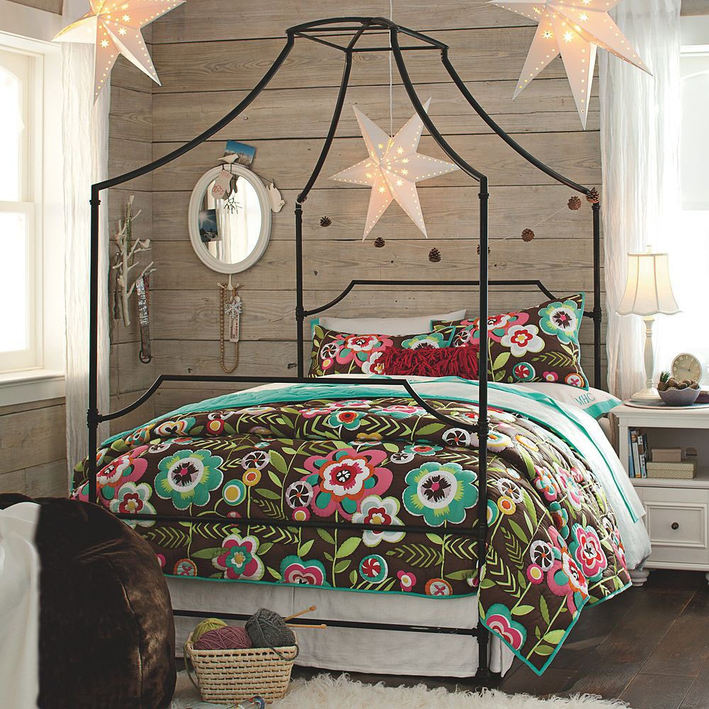 Metal Canopy Bed Frame