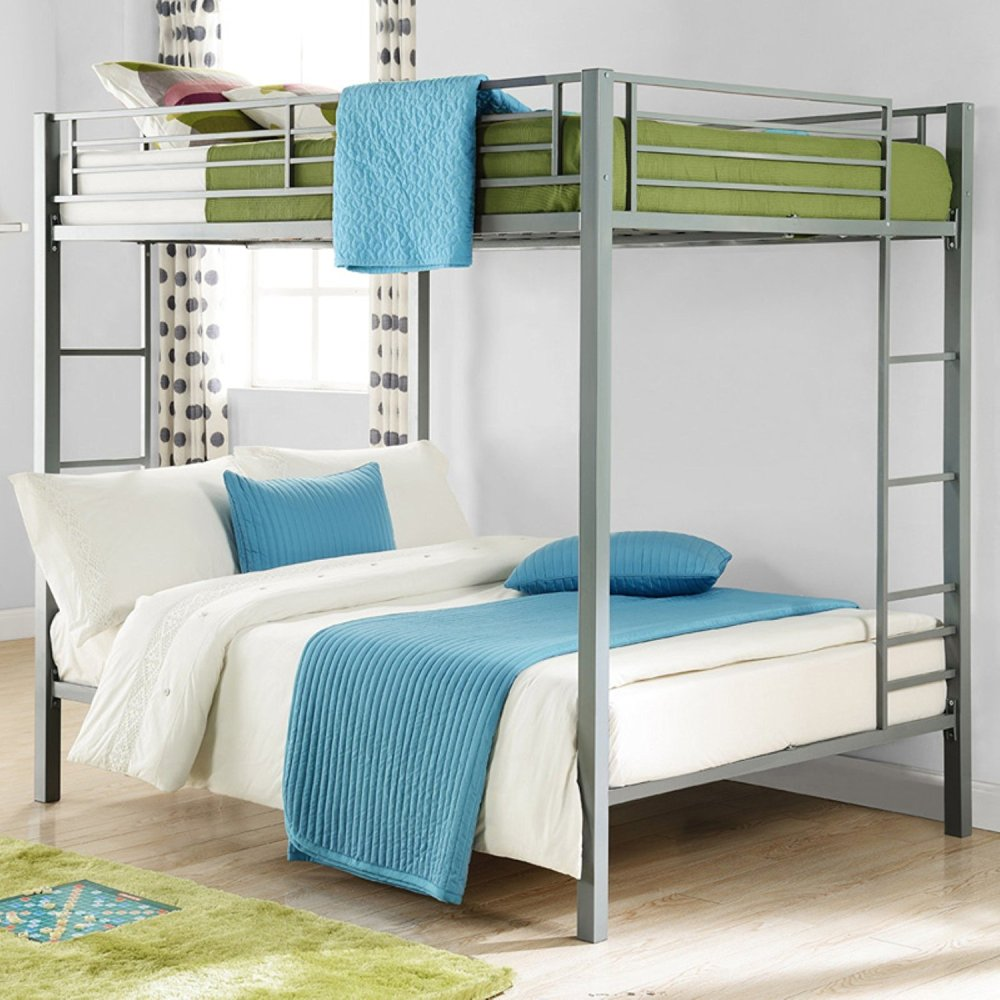 Metal Frame Bunk Beds Full Over Full