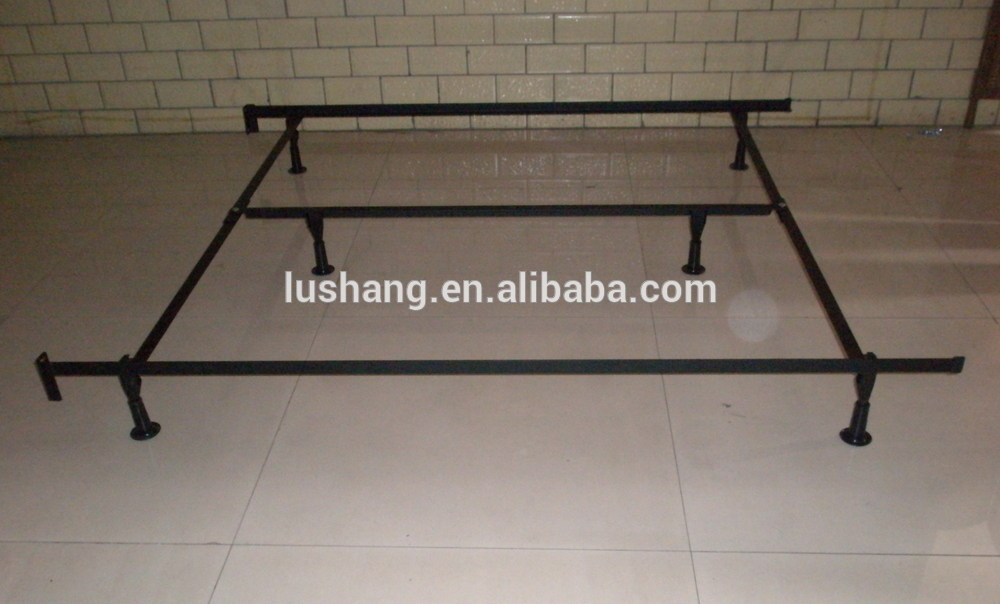 Metal Full Size Bed Frame With Center Support