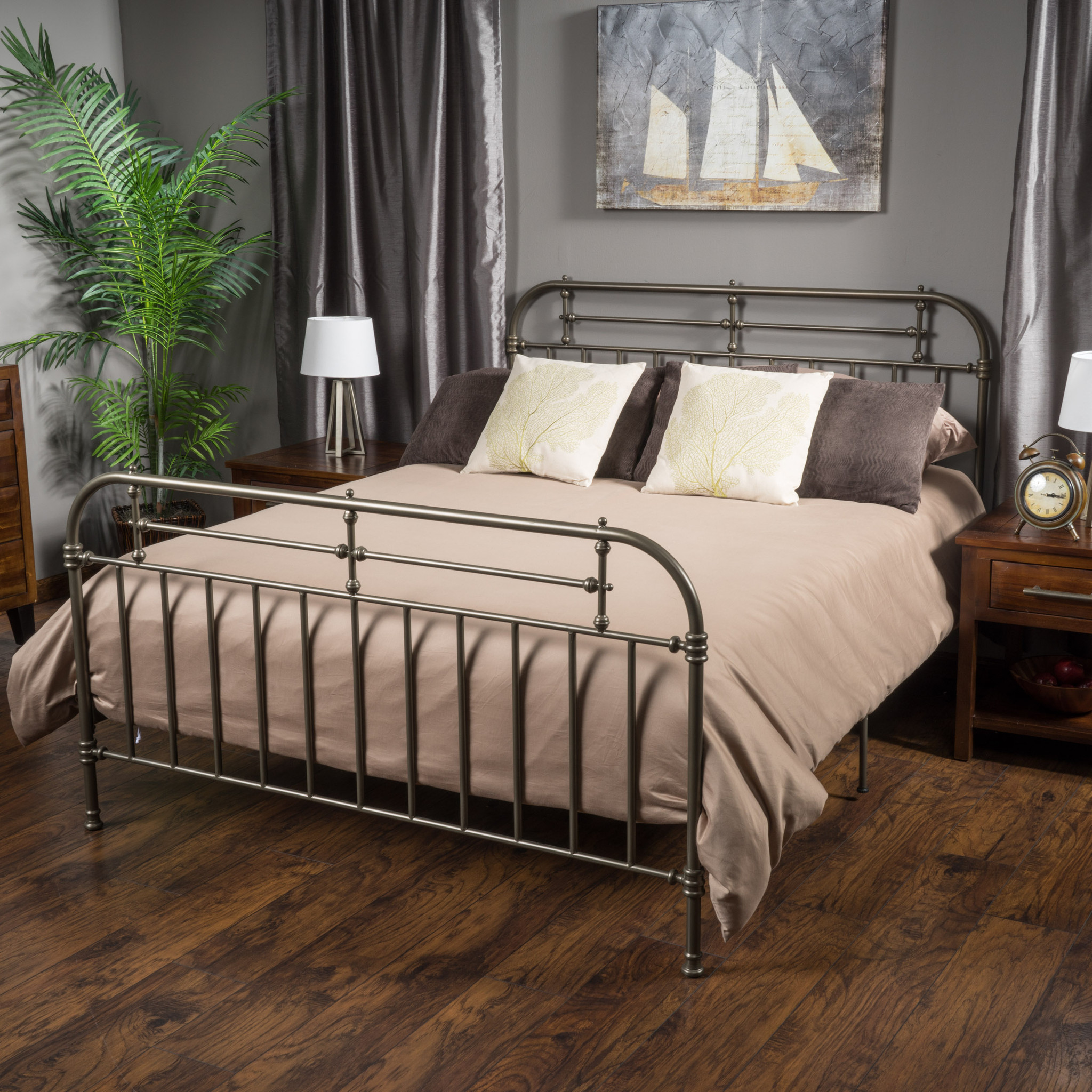 Metal King Bed Frame Canada