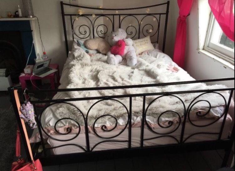 Metal King Size Bed Frame Gumtree