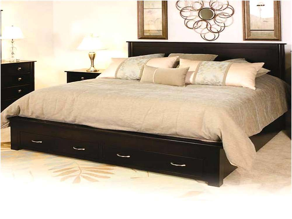 Metal Platform Bed Frame California King