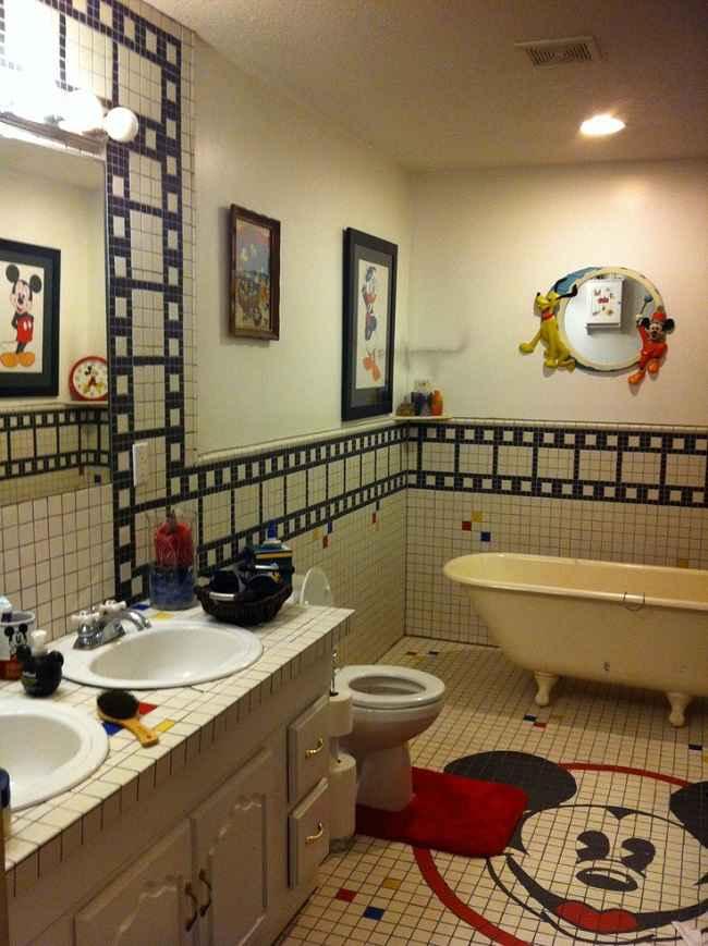 Mickey Mouse Bathroom Decorating Ideas