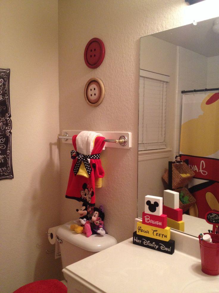 Mickey Mouse Bathroom Ideas