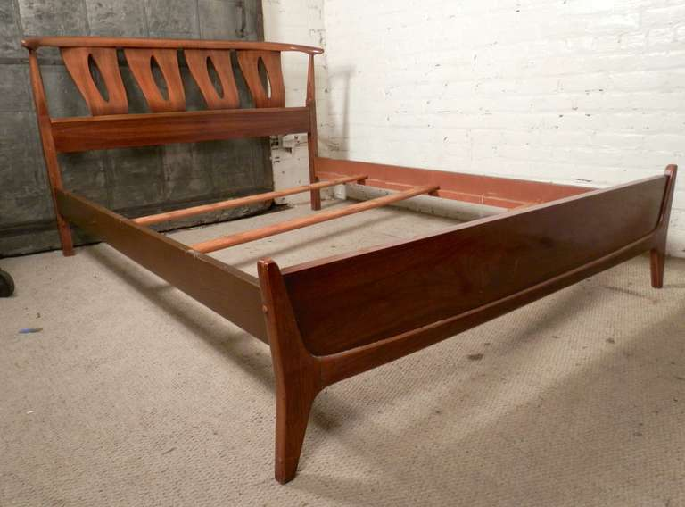 Mid Century Modern Bed Frame