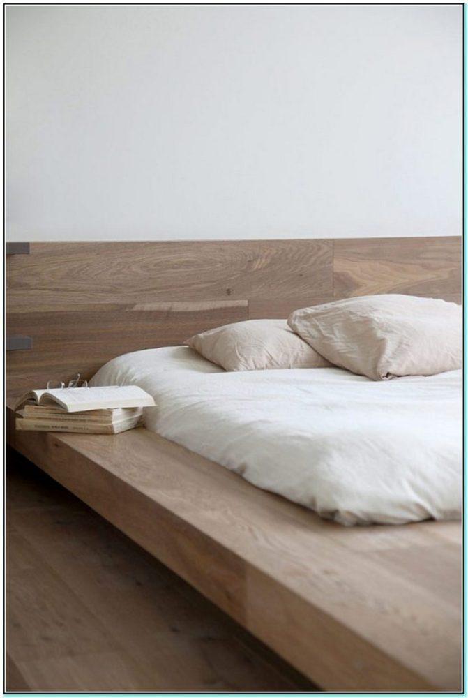 Minimal Wooden Bed Frame