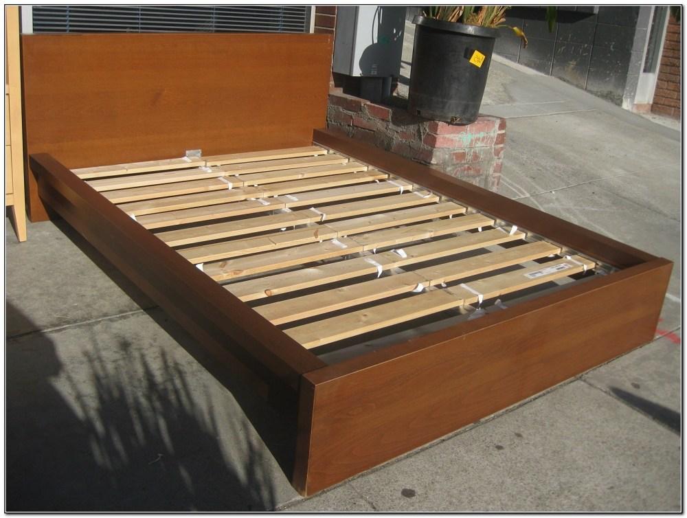 Minimalist Bed Frame Ikea