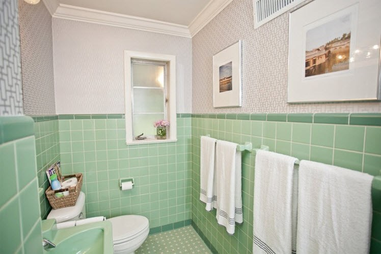 Mint Green Bathroom Ideas