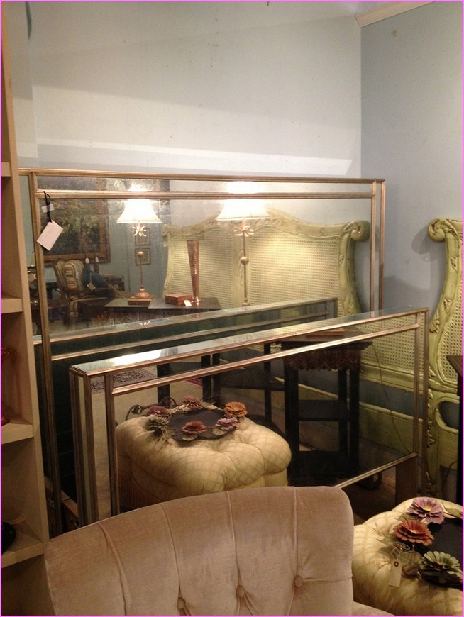 Mirrored Bed Frame