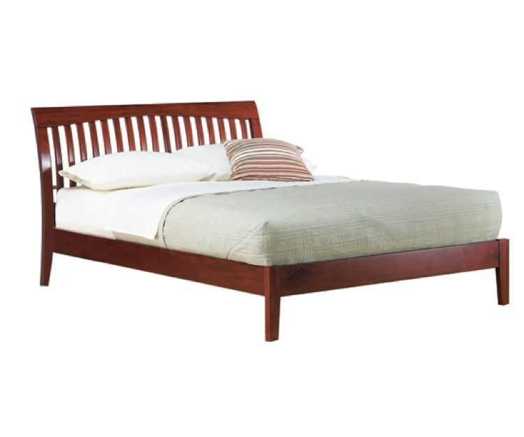 Mission Style Platform Bed Frame