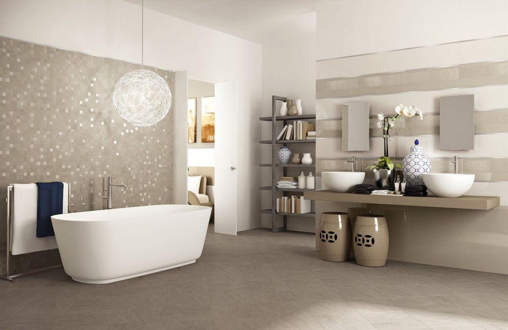 Modern Bathroom Tile Design Ideas