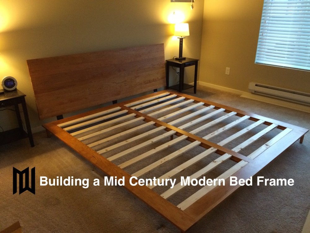 Modern Bed Frame Diy