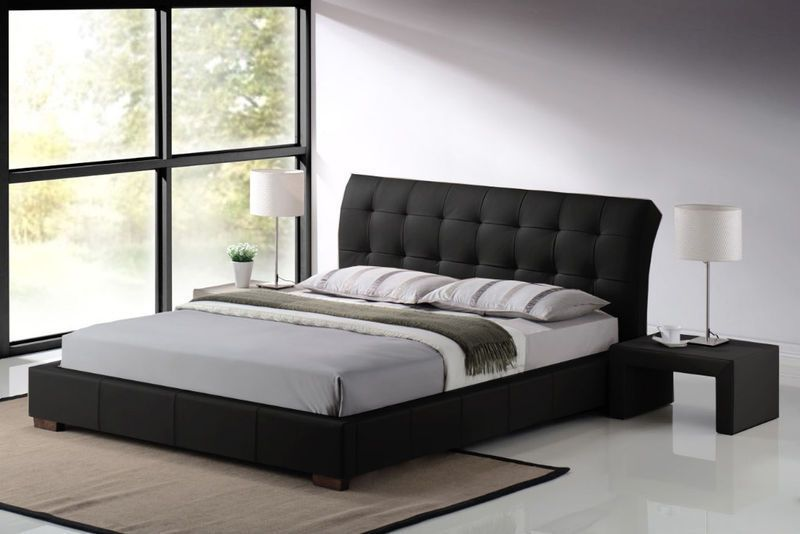 Modern Bed Frame With Storage
