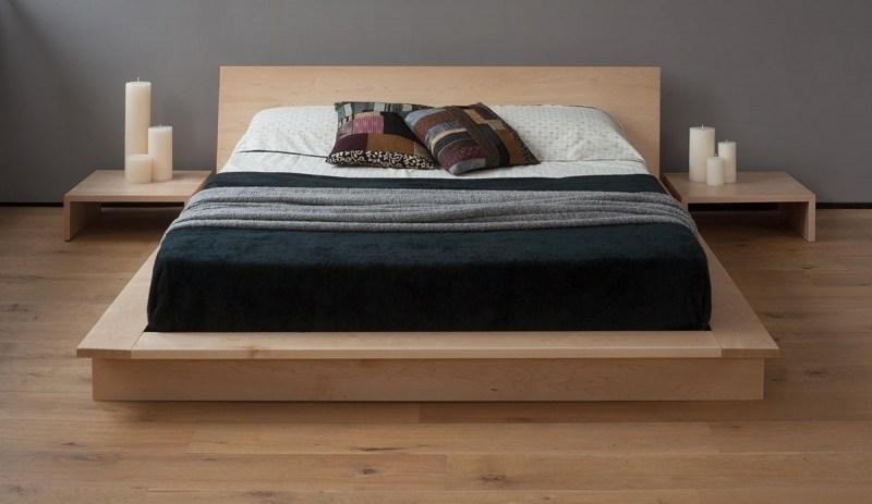 Modern Low Platform Bed Frame