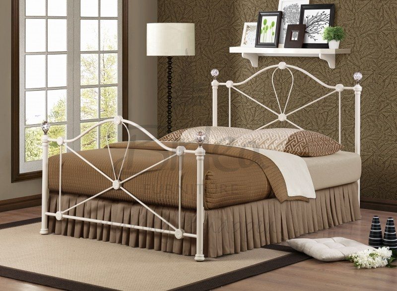 Modern Metal King Bed Frame