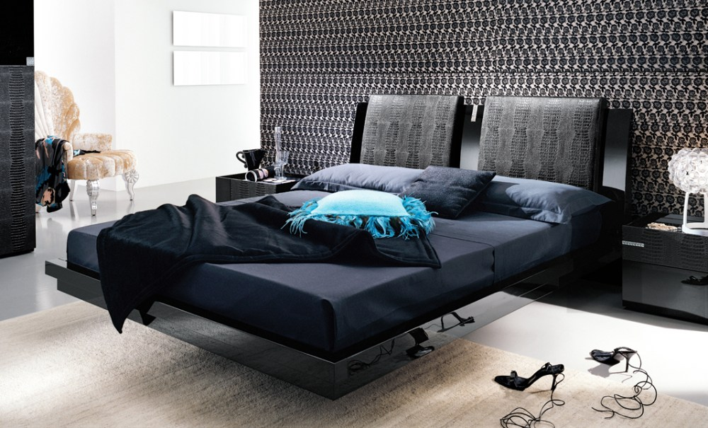 Modern Platform King Bed Frames