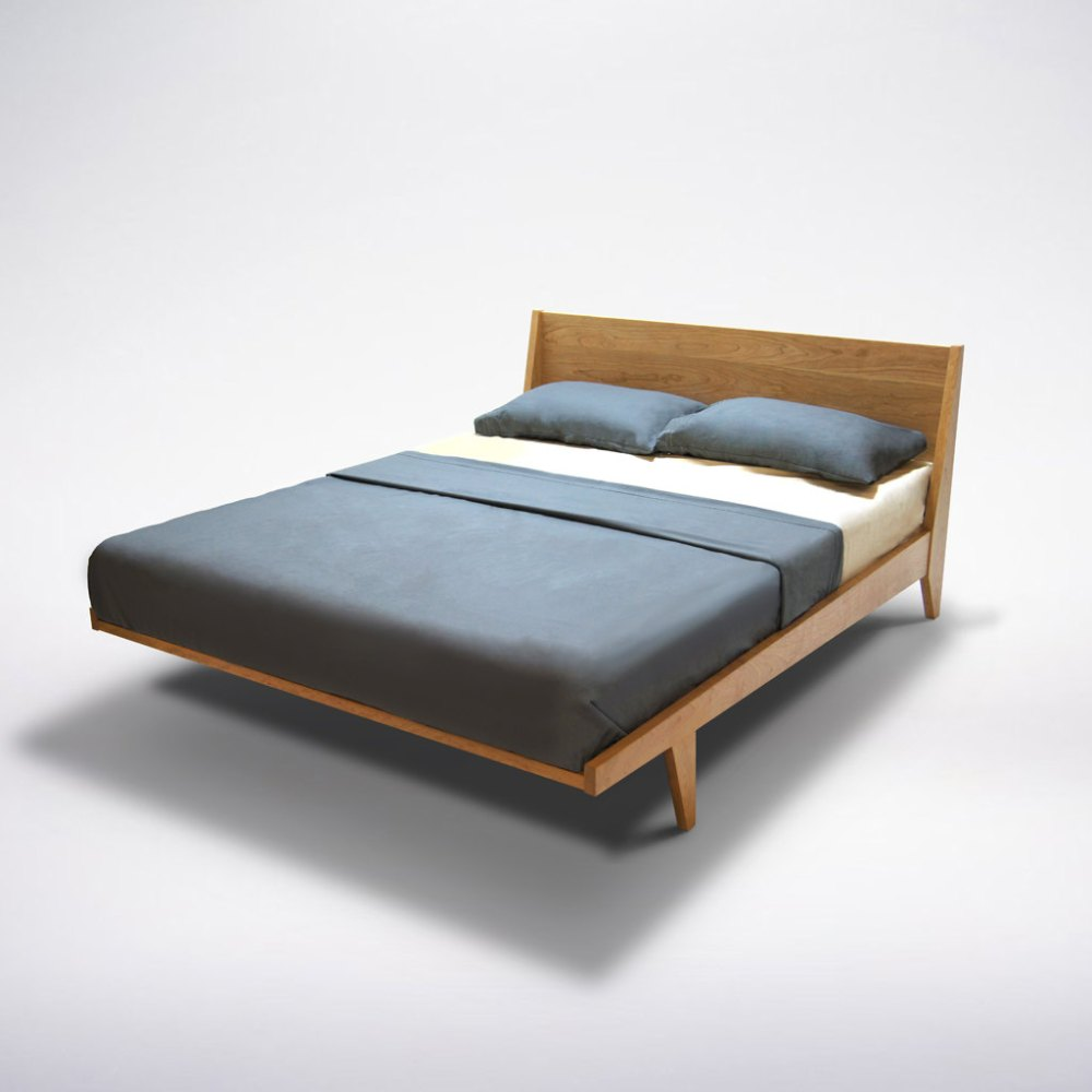 Modern Wood Platform Bed Frame