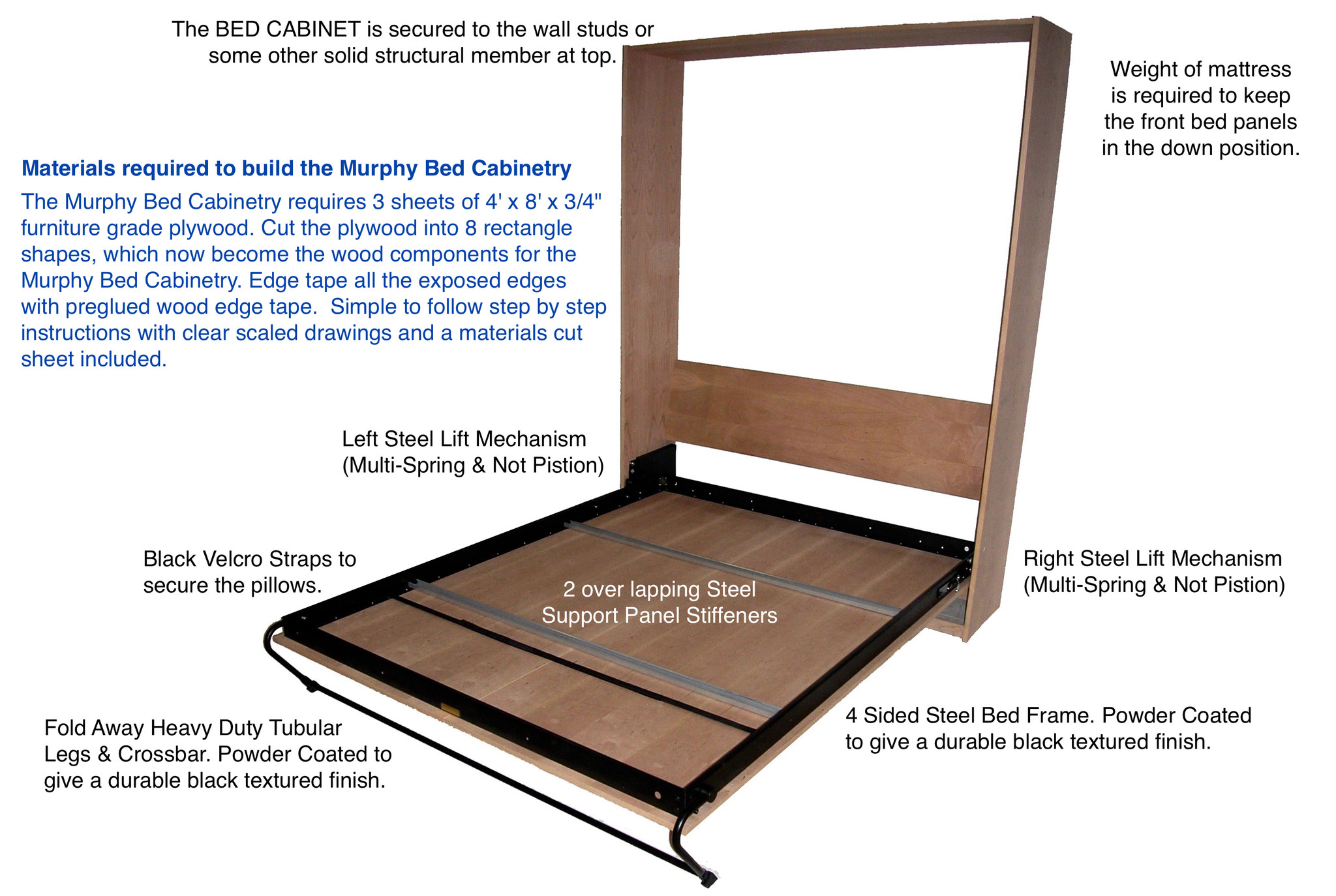Murphy Bed Frame Diy