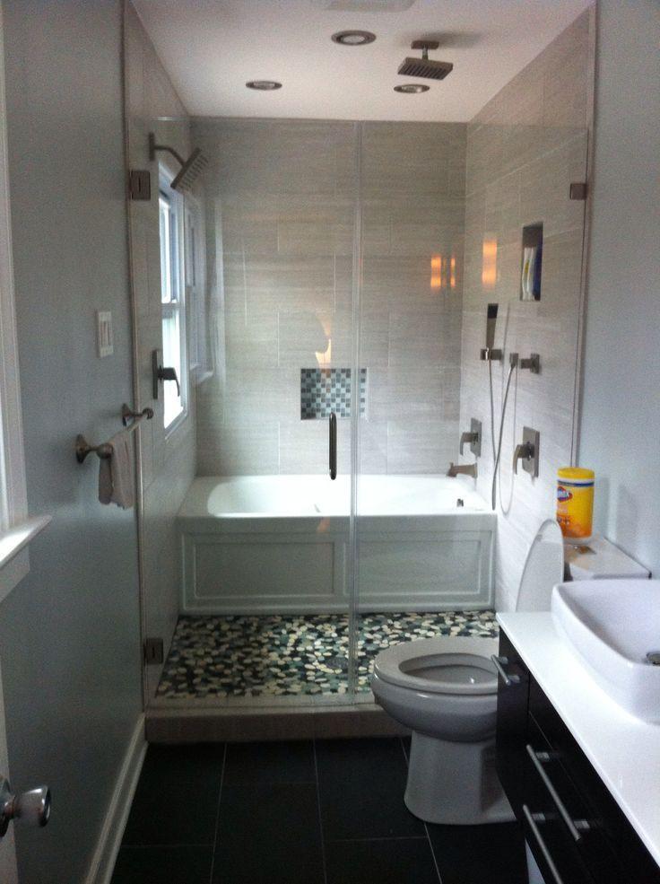 Narrow Bathroom Ideas With Tub