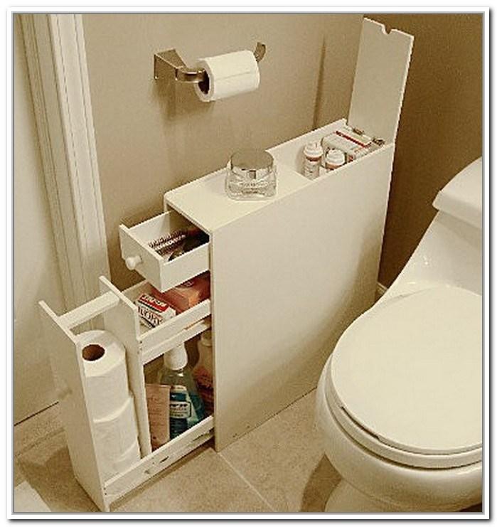 Narrow Bathroom Storage Ideas