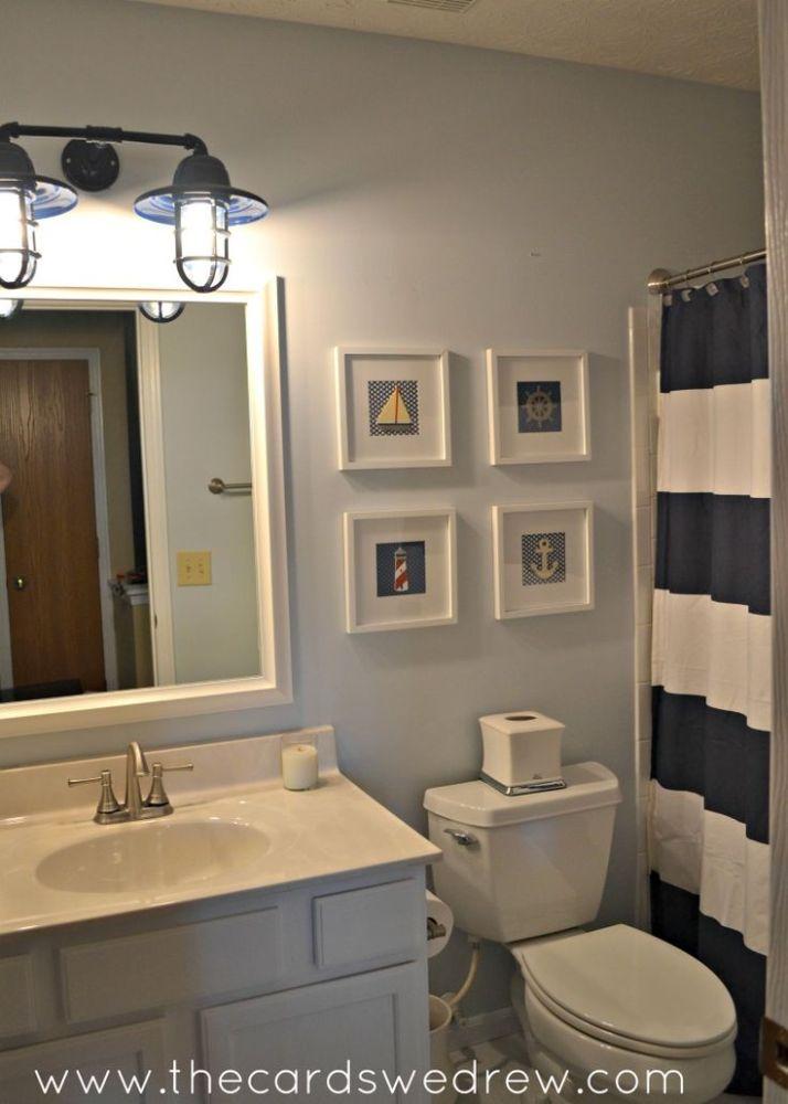 Nautical Bathroom Ideas Pinterest