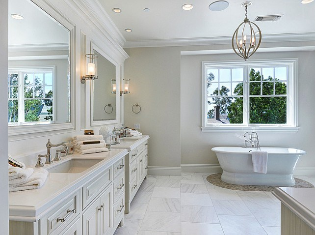 Neutral Master Bathroom Ideas