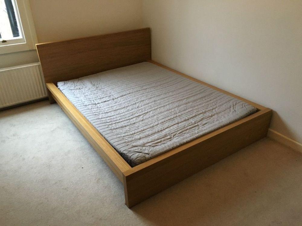 Oak Bed Frame Ikea
