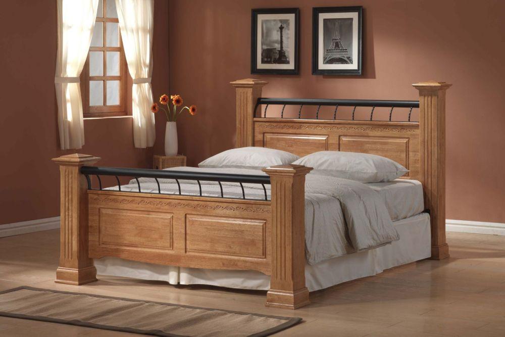 Oak Bed Frame King