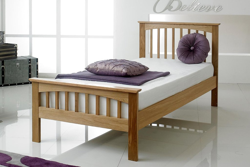 Oak Bed Frame Single
