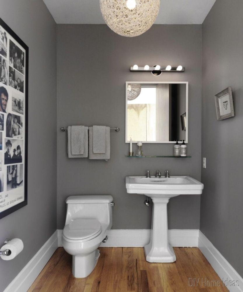 Orange Brown Bathroom Ideas