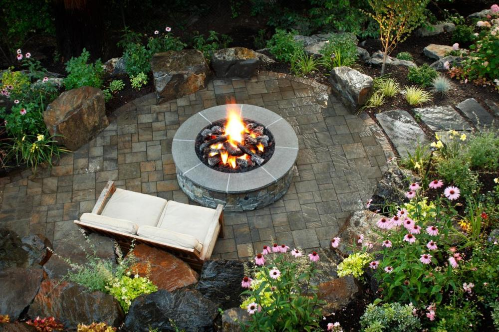 Outdoor Landscaping Ideas Fire Pits