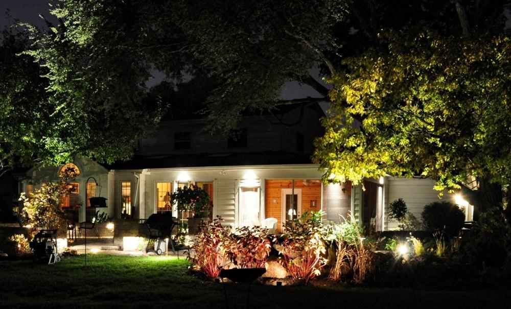Outside Landscape Lighting Ideas