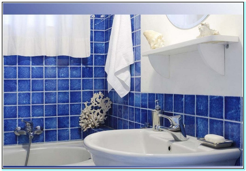 Paint Color Ideas For Bathroom With Blue Tile