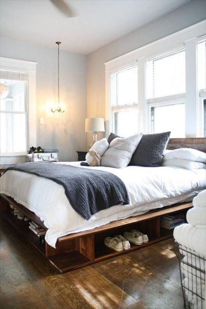 Pallet Bed Frames Pinterest