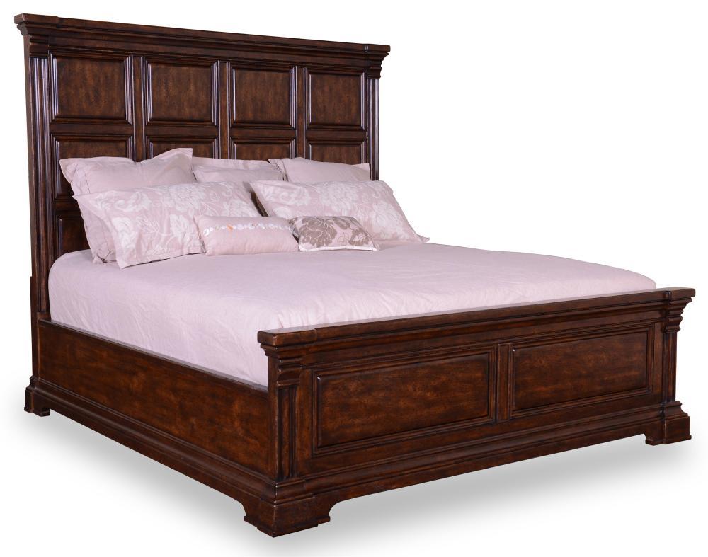 Panel Bed Frame King