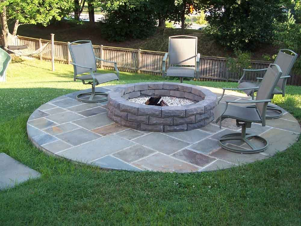 Patio Fire Pit Designs Ideas