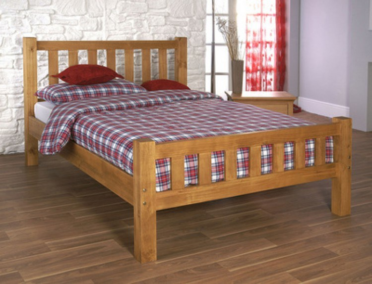 Pine Bed Frame Double