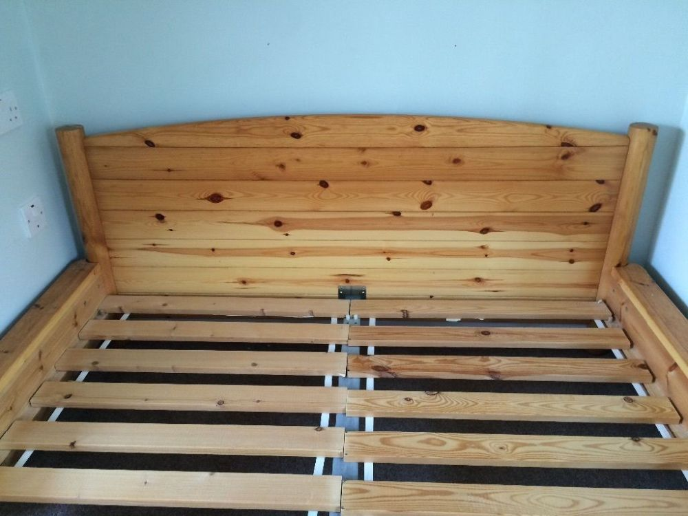 Pine Bed Frame Ikea