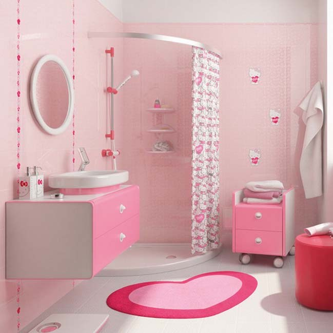 Pink Bathroom Remodeling Ideas