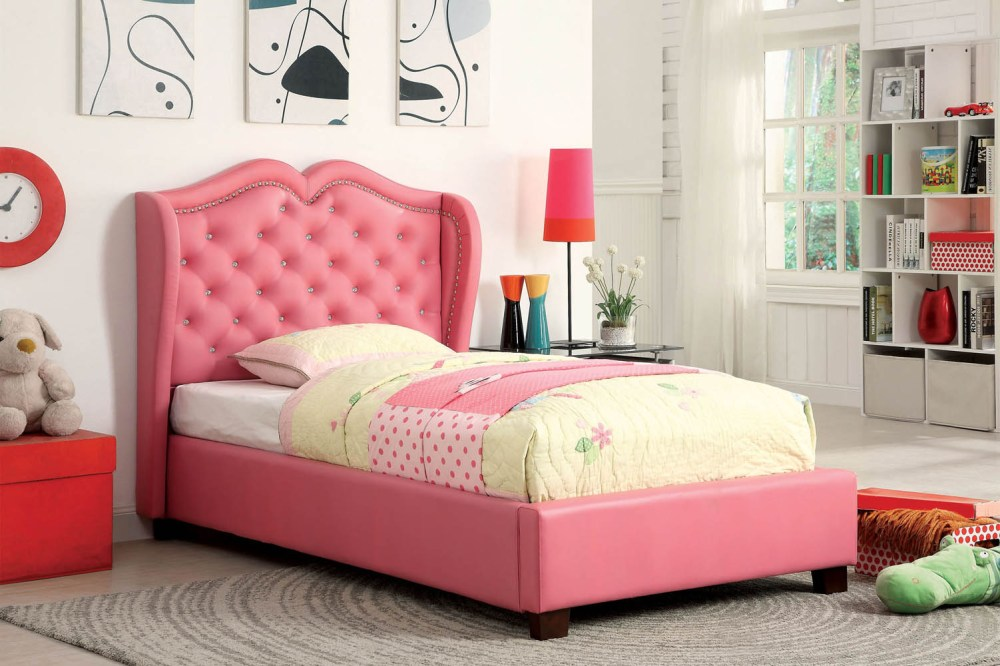 Pink Bed Frame Twin