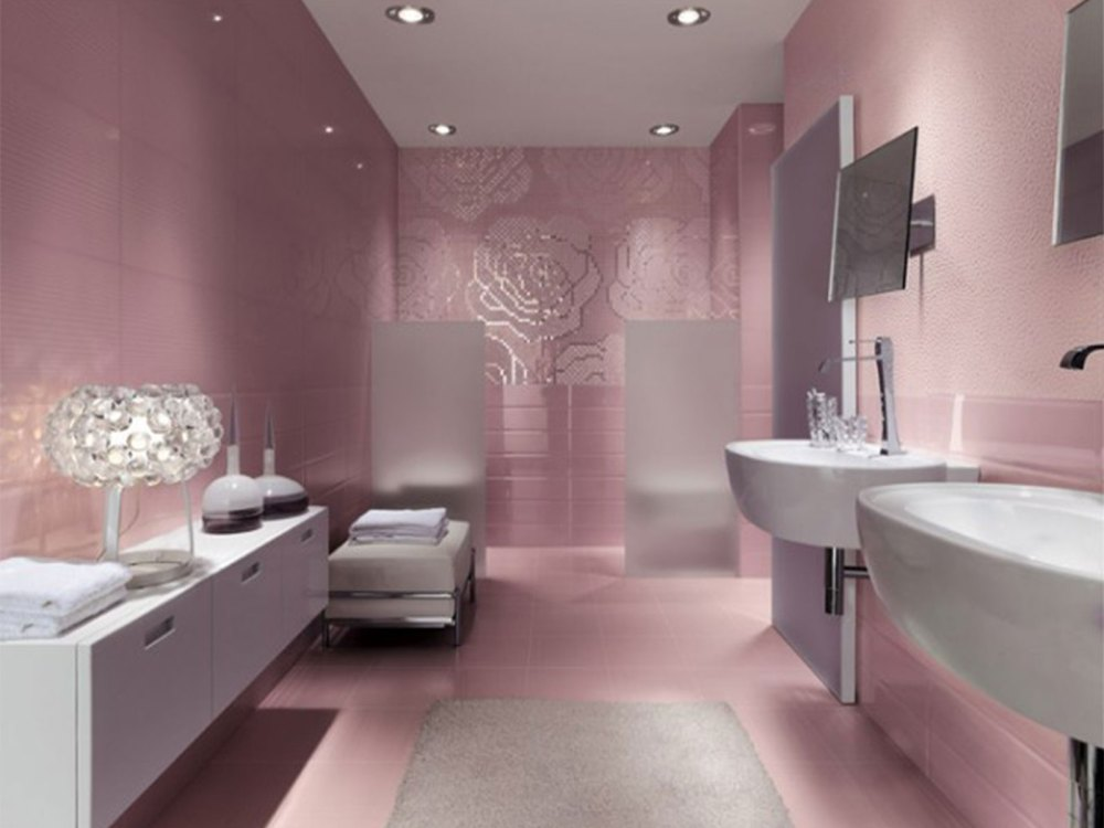 Pink Girly Bathroom Ideas