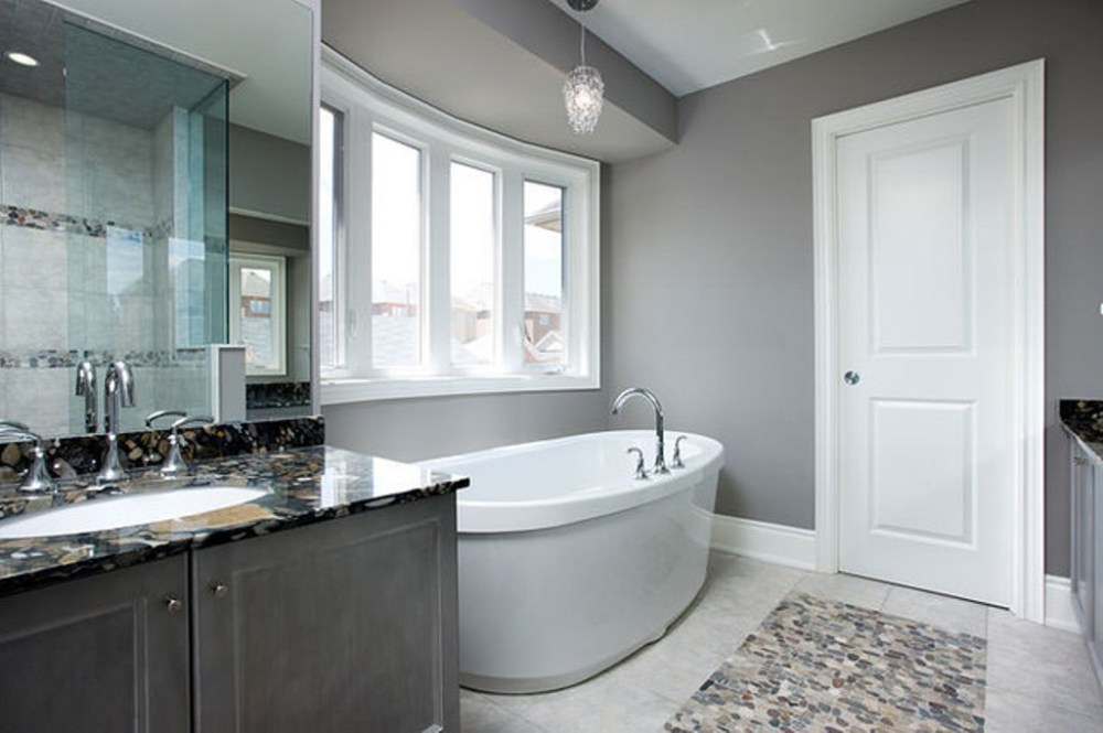 Pink Gray Bathroom Ideas