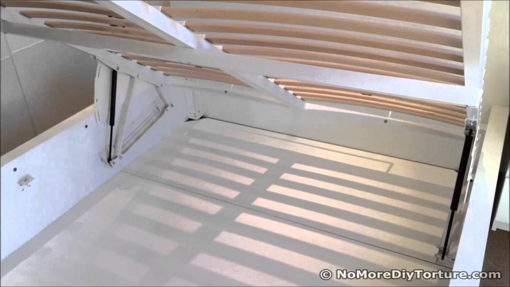 Pivot Storage Bed Frame King