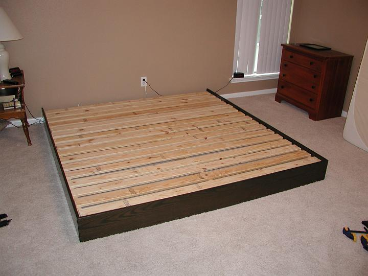 Platform Bed Frame Build