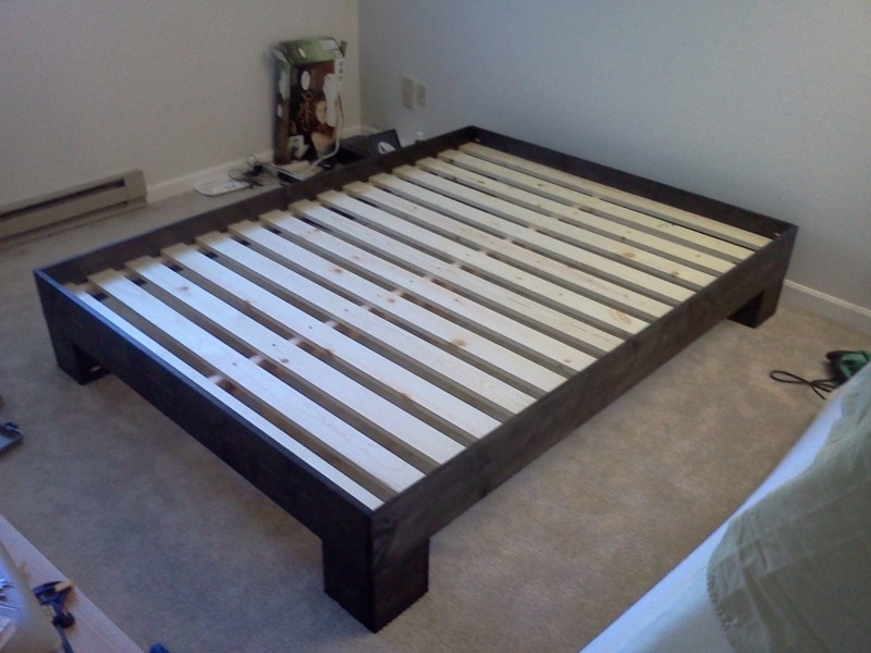 Platform Bed Frame Full Diy