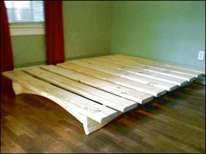 Platform Bed Frame Full Plans