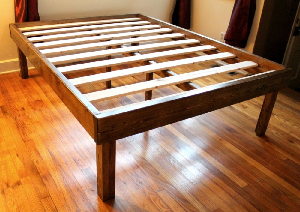 Platform Bed Frame Full Xl