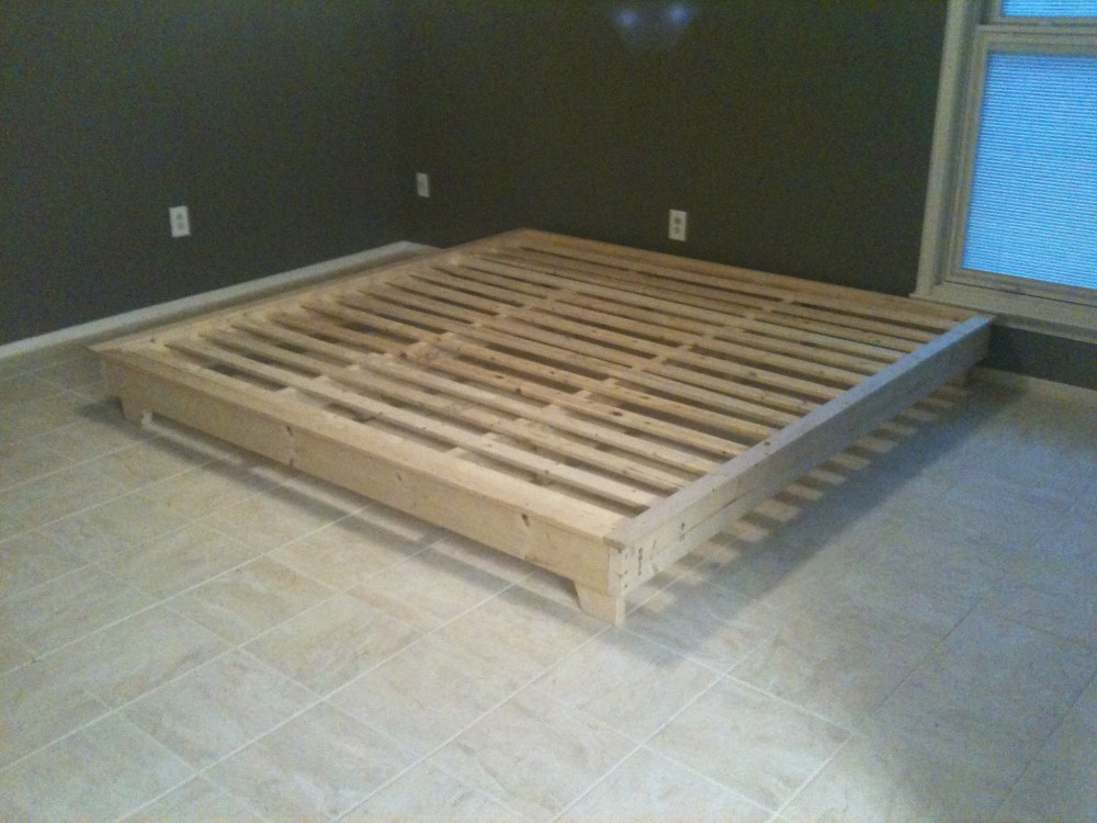 Platform Bed Frame Ideas
