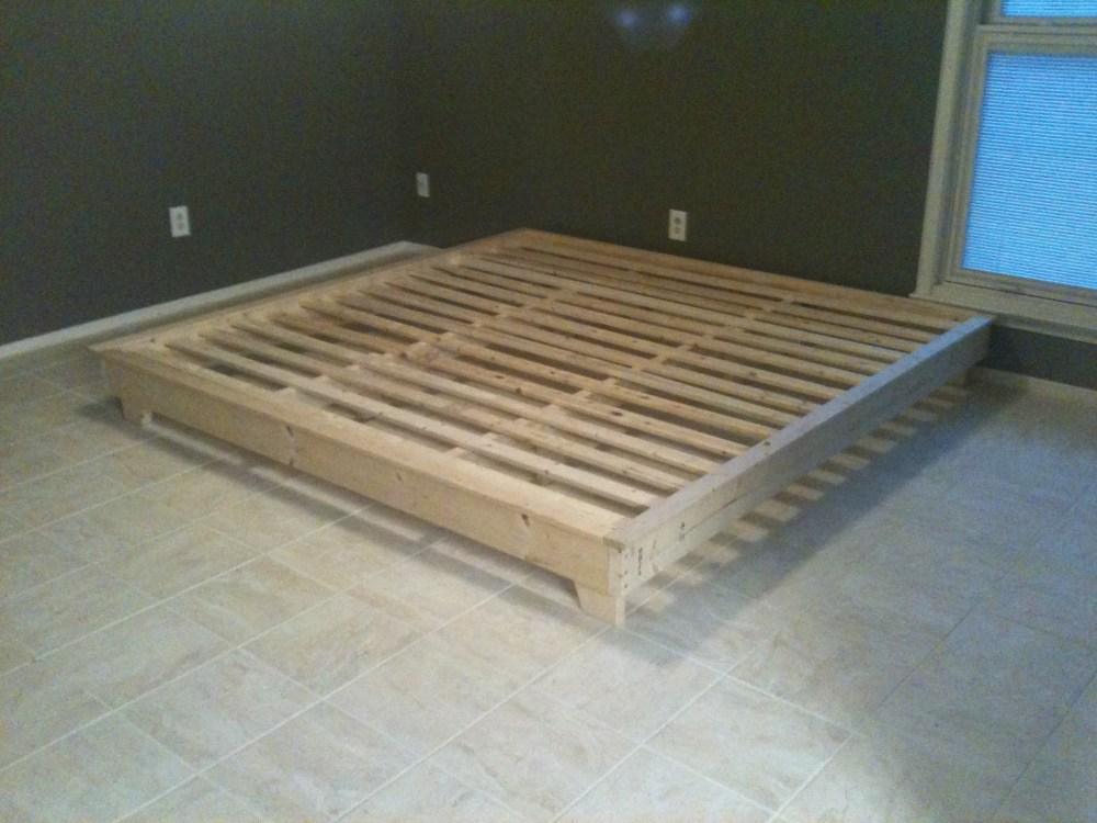 Platform Bed Frame King Diy