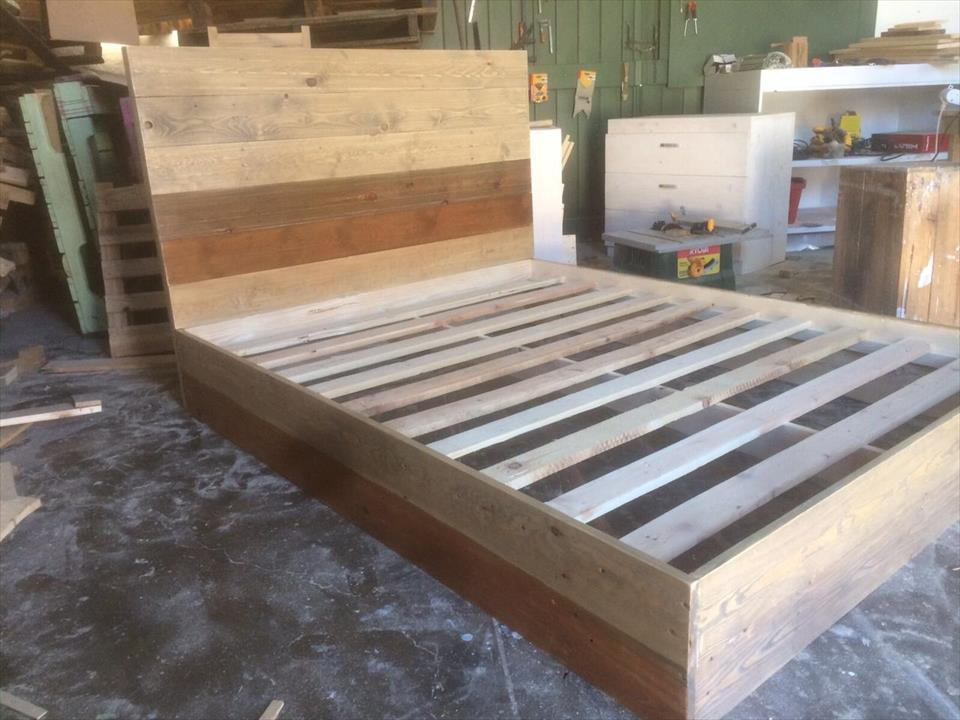 Platform Bed Frame Pallets